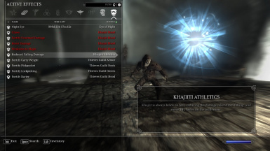 Khajiit Passive Ability - Khajiiti Athletics
