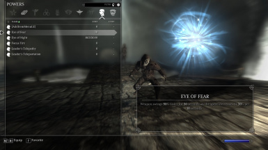 Khajiit Active Power - Eye of Fear
