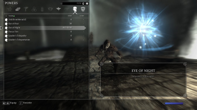 Khajiit Active Power - Eye of Night