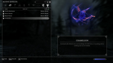 Wood Elf Passive Ability - Chameleon
