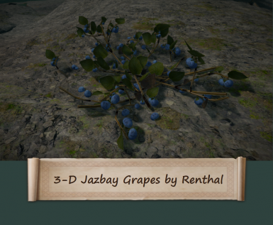 3-D Jazbay Grapes by Renthal311