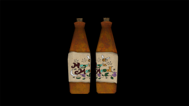Included shown bottle texture