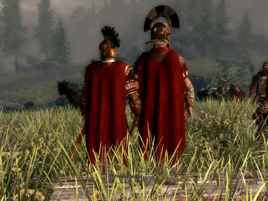 Roman Legate and Officers at Camp