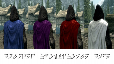 Project Nightingale Cape ReColor (Male Only)