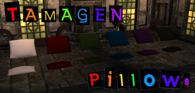 Tamagen Pillows