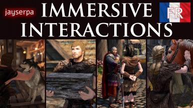 Immersive Interactions - Animated Actions LE - French