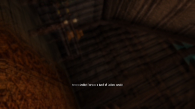 Sleeping in Helgen inn after enabling the Intro.. and things will happen :)