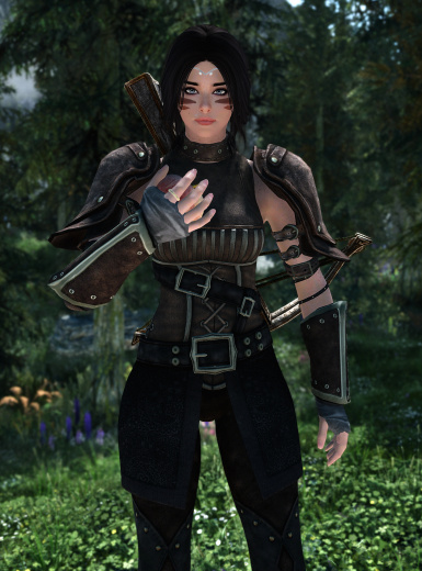 Optional armored gauntlets