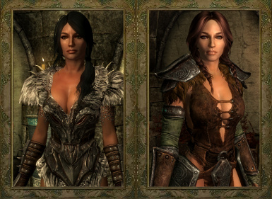 Ancient Nord Armor and Saviors Hide CBBEv3 Echo