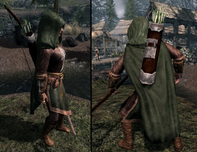 Gondorian Ranger Armor female in Update File