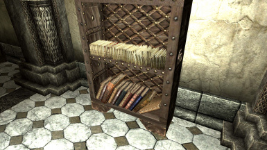 Image result for skyrim bookcase