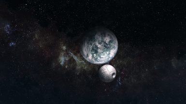 Star Wars Planets Skyrim Moon Replacers