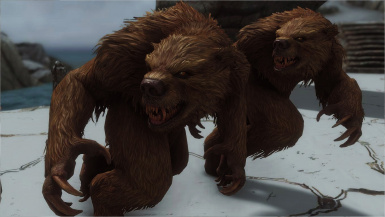 Werebear Sounds Revamped- Mihail Monsters and Animals (mihail oldrim mod)