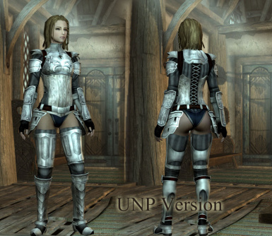 R18Pn 01 - Eisen Platte Armor for UNP and CBBE V3 V2
