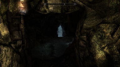 cave tunnel exit