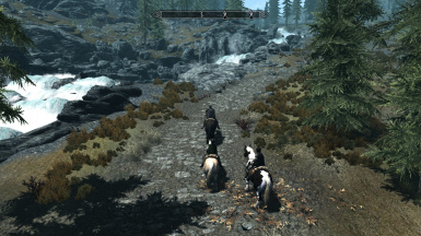 Riders of Whiterun extended camera