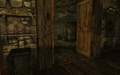 The smithing room