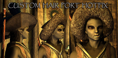Custom Hair Port Hotfix