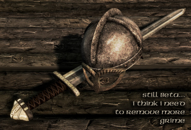 Viking helm and sword beta for 1f