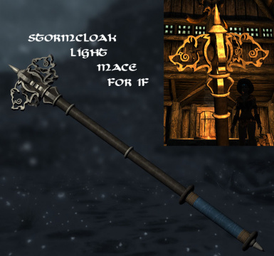 stormcloak light mace