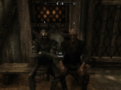quest markers - kharjo and faendal relax