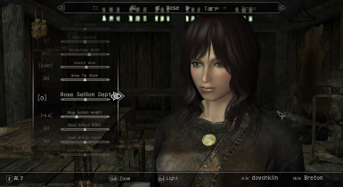 Enhanced Character Edit мод для Skyrim