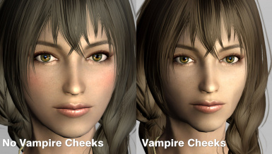 No Vampire Cheeks option