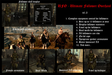 UFO - Ultimate Follower Overhaul at Skyrim Nexus - mods and