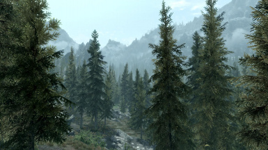 With Lush trees mod