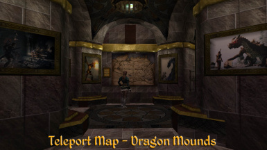 Basement Dragon Map
