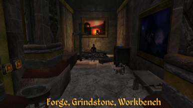 Crafting Forge hall
