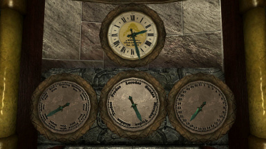 Clocks in Skyrim