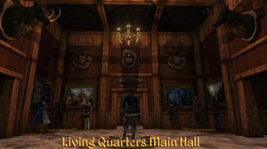 Living Qtrs Main Hall