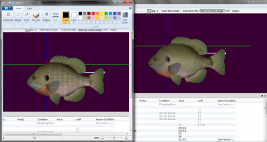 Blue Gill New Texture