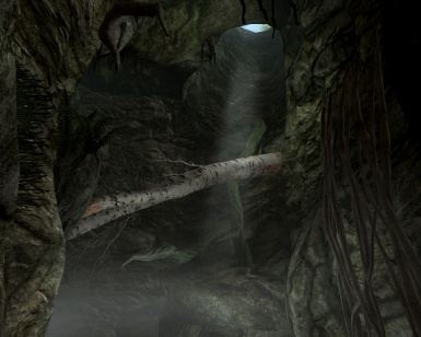 Passage to Shadowgreen Caverns