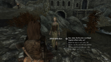 Khajiit doing honest work