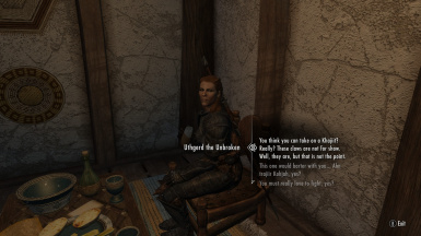 Khajiit Speak - Complete Dialogue Overhaul