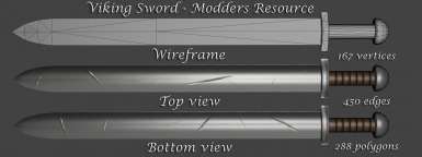 Viking Sword - Modders Resource