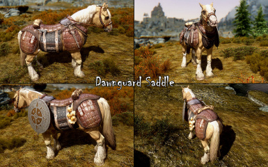 Dawnguard Saddle