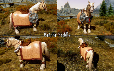 Knight Saddle