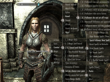 Sample Dialogue Menus