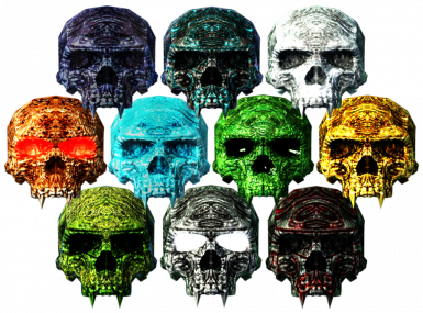 Hidden Skulls of the Forgotten Legends
