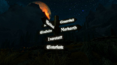 German Signs - Outside Whiterun