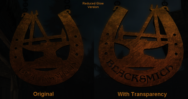 Vanilla vs Transparent Letters Comparison