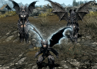 Alduins Wings At Skyrim Nexus Mods And Community 109 eagle wing & wing staff combo set. alduins wings at skyrim nexus mods