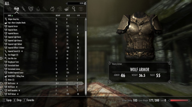 In-game Armor