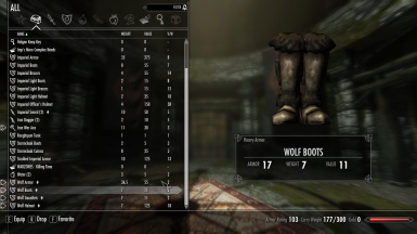 In-game Boots