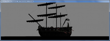 A preview of the retextured ship