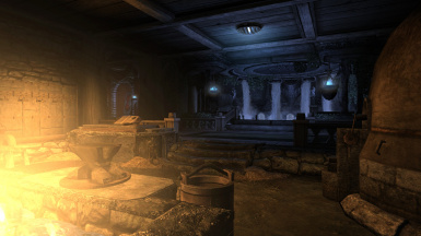 Smithing Area and Bath