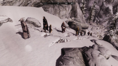 Fellowship in their way to Moria